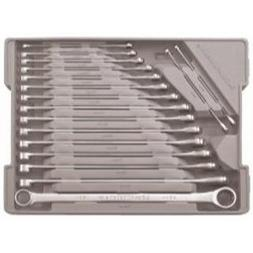 Wrench Ratcheting Set Xl 17Pc Double Box Metric-2pack